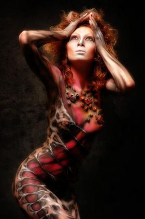 COMETA MAGICO - Galería de Tattoo - BODY ART - PINTURA SOBRE EL CUERPO