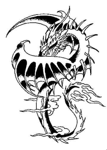 COMETA MAGICO - Galería de Tattoo - TATUAJES DE DRAGONES - BAJA TU IMAGEN